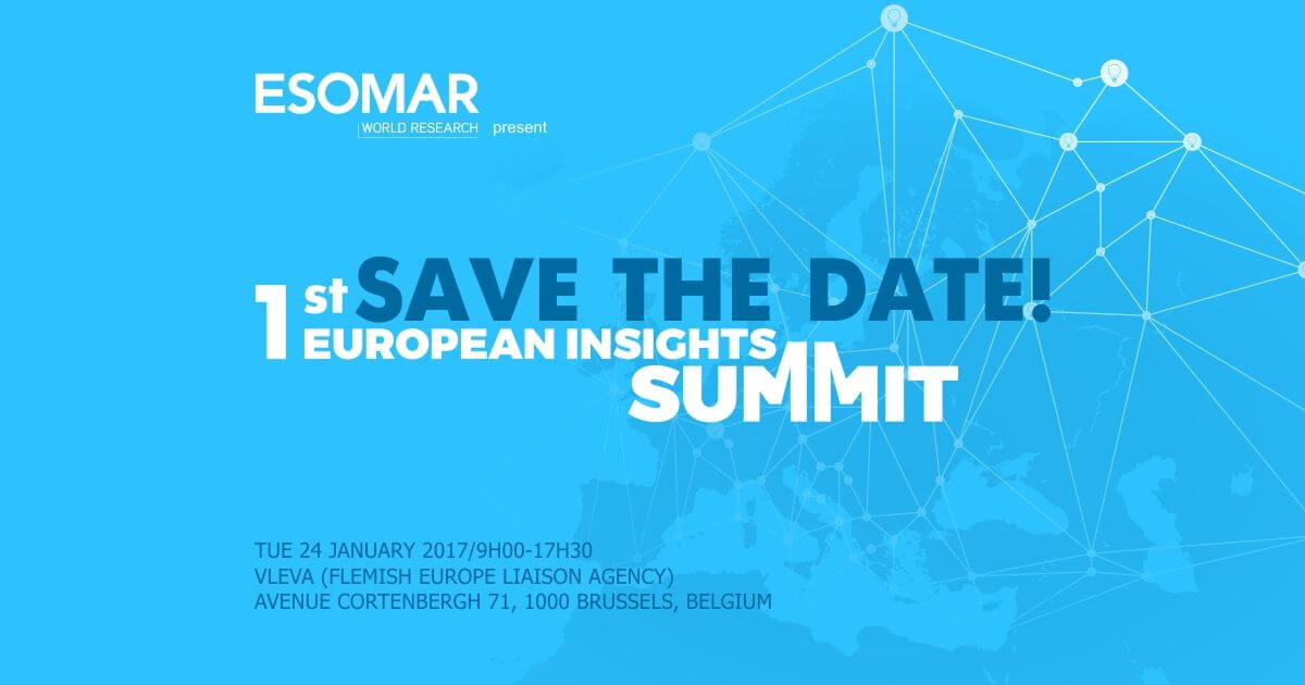 esomar research paper Description market research best practice is a compilation of the best discussion papers, case studies and methodologies from the esomar publishing and event.